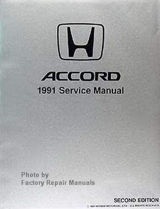 91 honda accord service manual