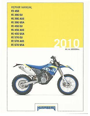 2010 husaberg fe 450 service manual