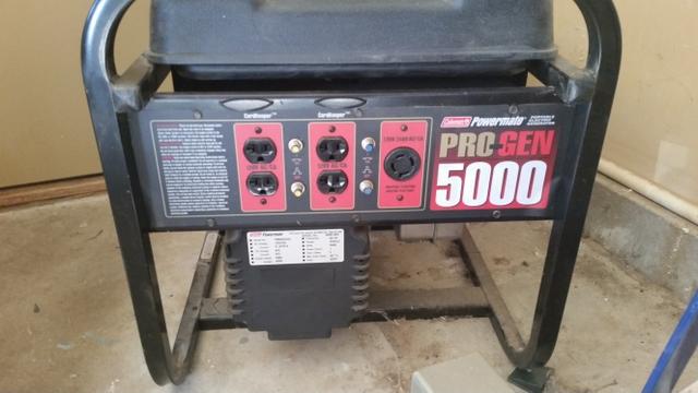 coleman powermate pro gen 5000 owners manual