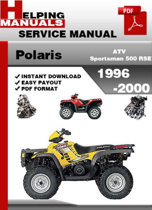 polaris sportsman 500 service manual free