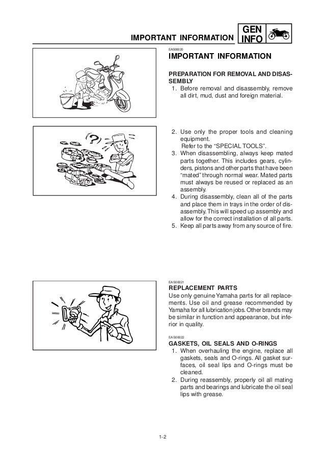 2004 yamaha vino 125 owners manual