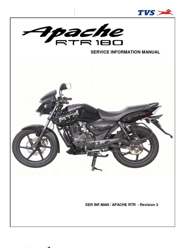 tvs apache 150 service manual