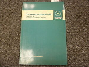 1986 mercedes 560 sel owners manual