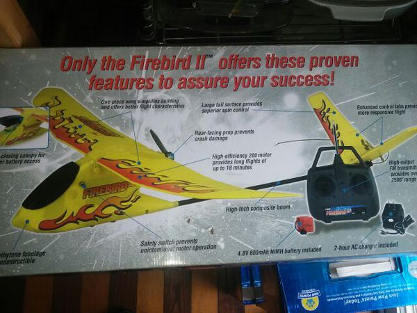hobbyzone firebird commander 2 manual