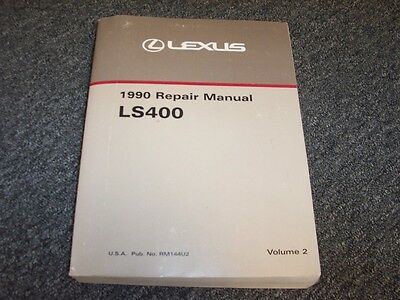 1990 lexus ls400 owners manual
