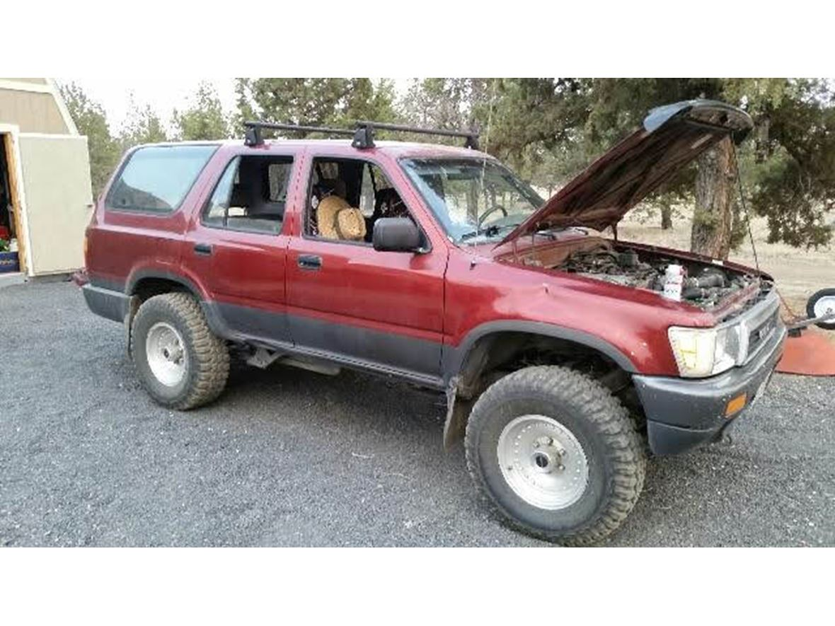 1990 toyota 4runner owners manual