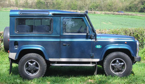 1993 land rover defender owners manual