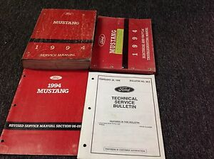 1994 ford mustang service manual