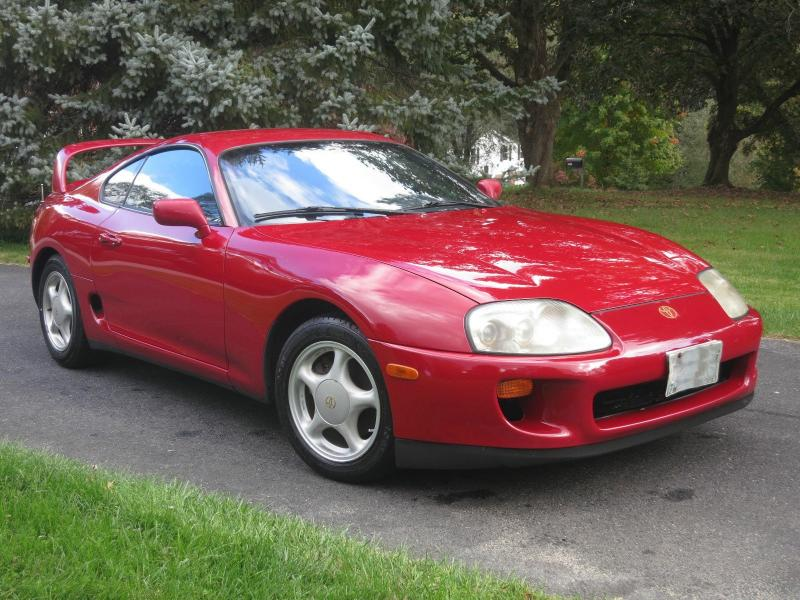 1995 toyota supra owners manual