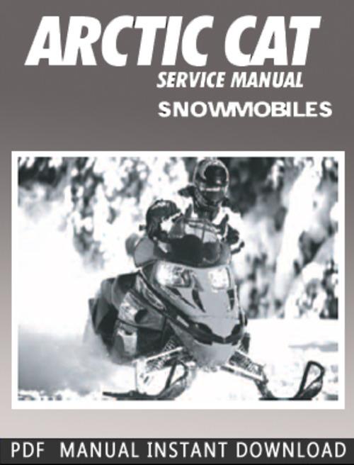 1998 arctic cat zr 600 efi service manual