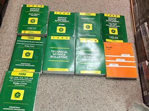 1998 dodge ram service manual