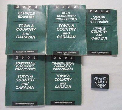 2004 dodge caravan service manual