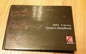 2001 saturn l series owner manual