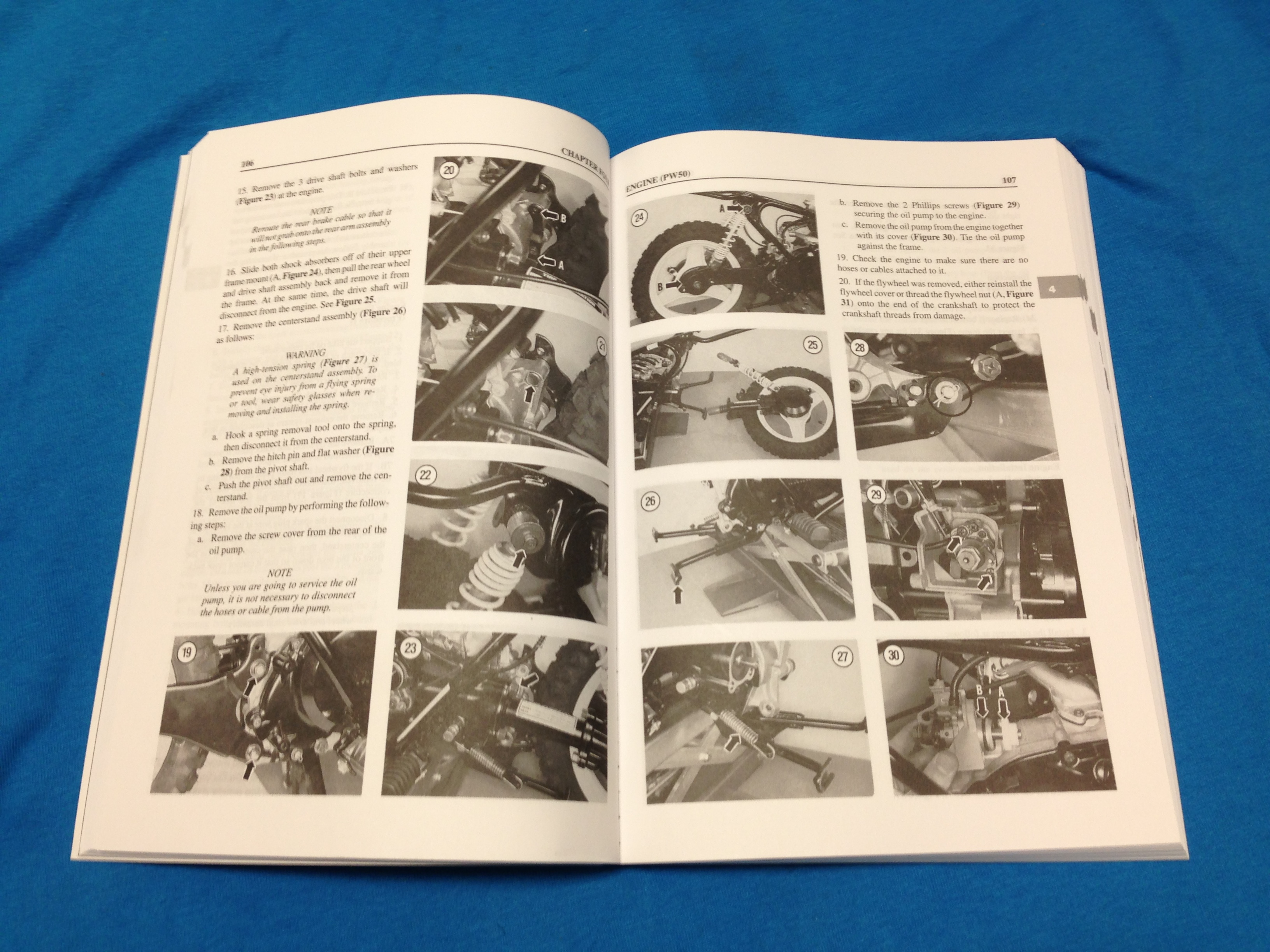 2004 yamaha pw50 owners manual