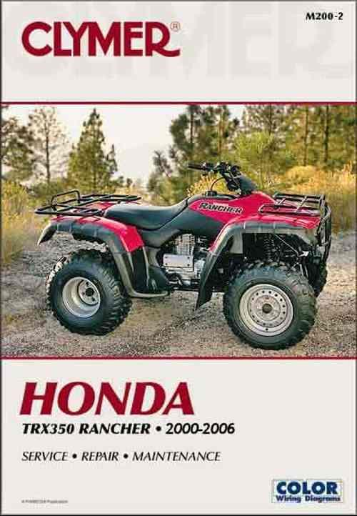 2007 honda rancher es owners manual