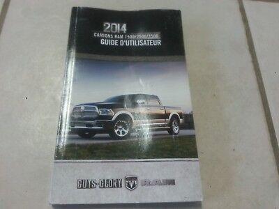 2014 dodge ram 1500 owners manual