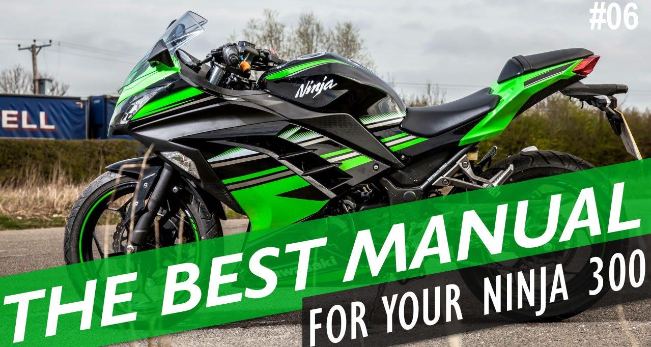 2014 ninja 300 service manual