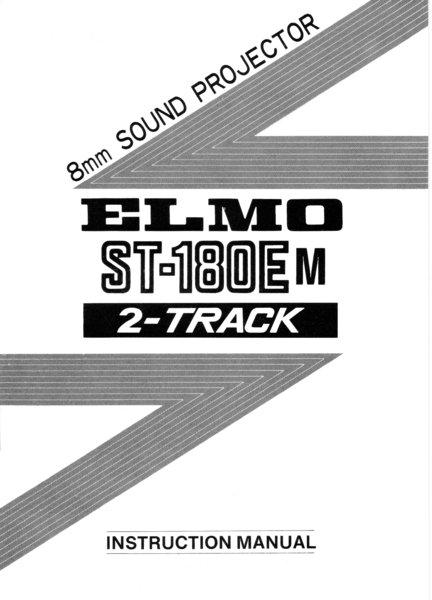 elmo st 180e m 2 track manual