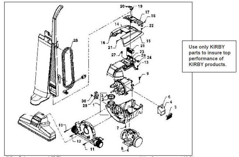 kirby heritage 2 service manual