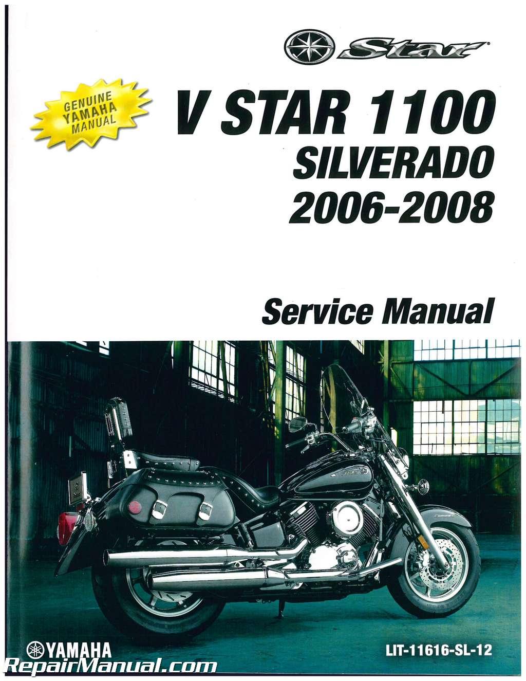 2008 yamaha v star 1100 service manual pdf