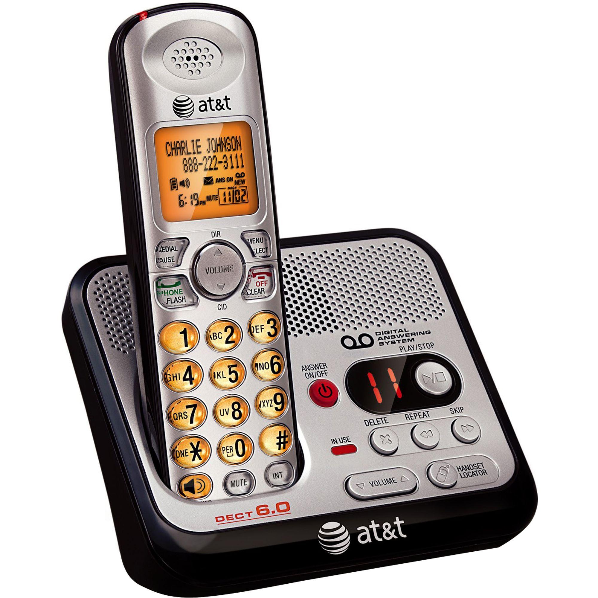 at&t phone 2 line dect 6.0 manual