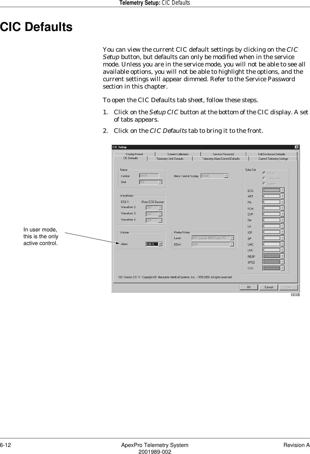 ge apexpro fh user manual