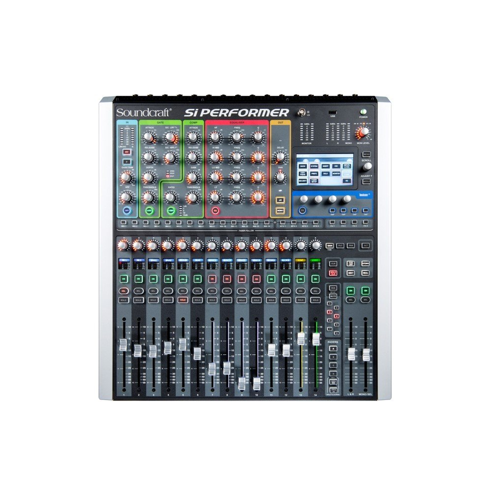 soundcraft si performer 2 manual