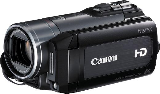 canon vixia hf20 user manual