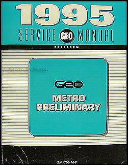 95 geo metro service manual