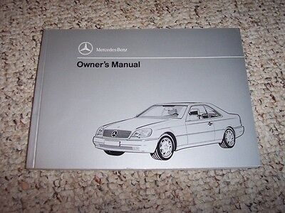 1994 mercedes s420 owners manual
