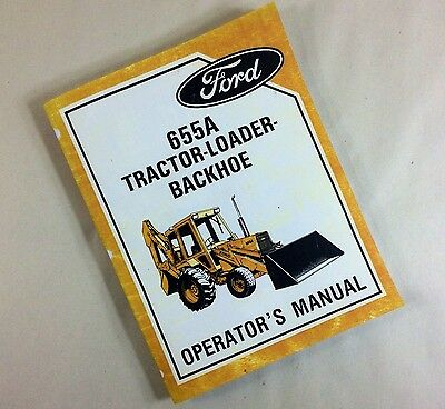 1971 industrial ford backhoe 4500 owners manual