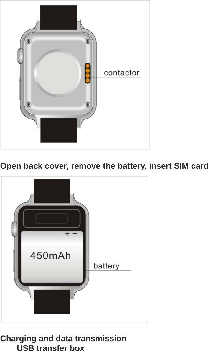 android smart watch user manual