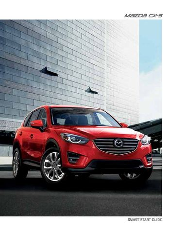 2016 mazda cx 5 owners manual