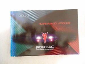 2000 pontiac grand prix owners manual