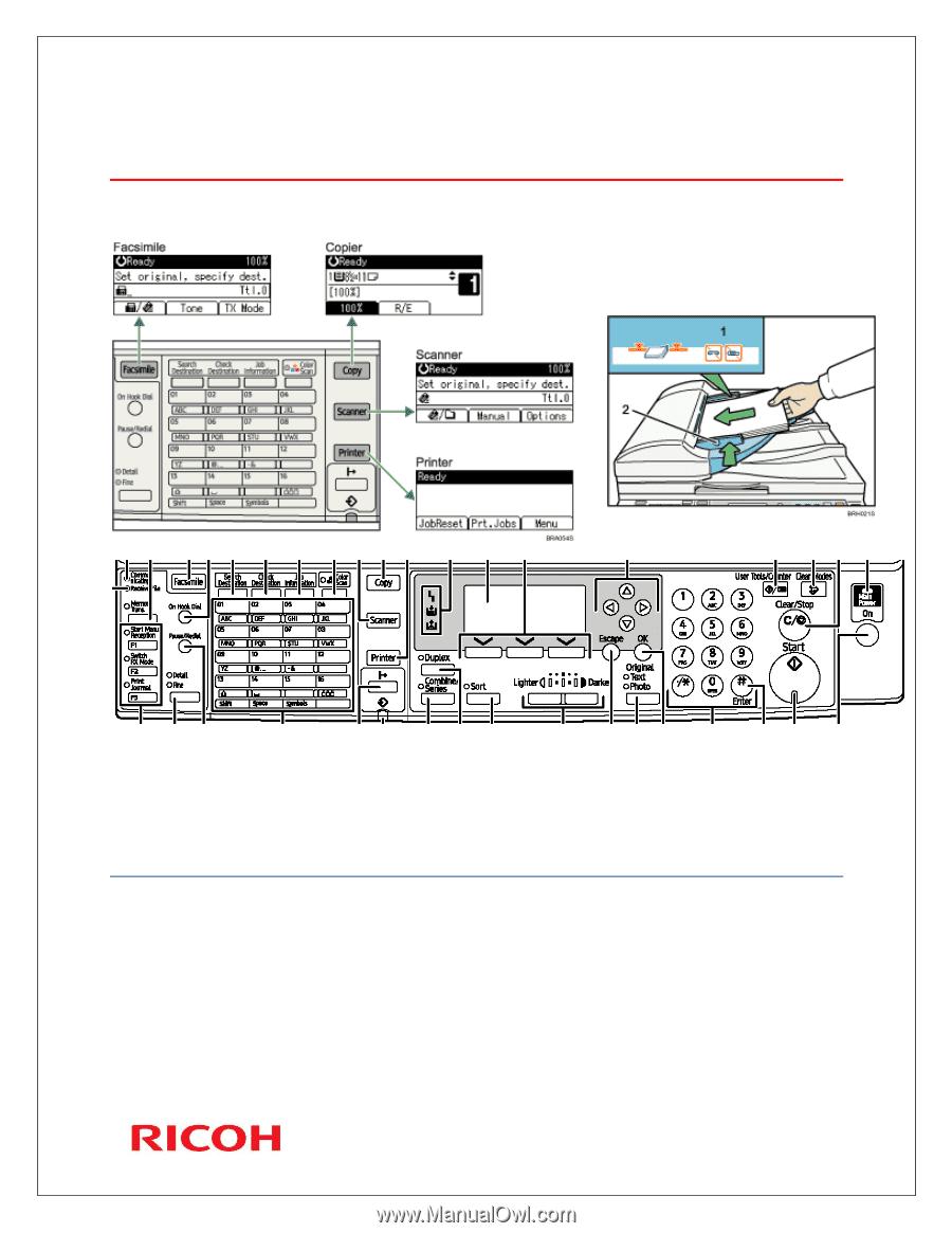 ricoh aficio mp 201 user manual