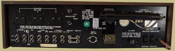 pioneer sx 626 service manual
