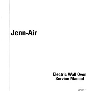 jenn air dishwasher service manual
