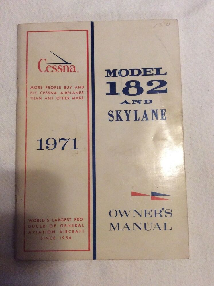 1975 cessna 182 owners manual