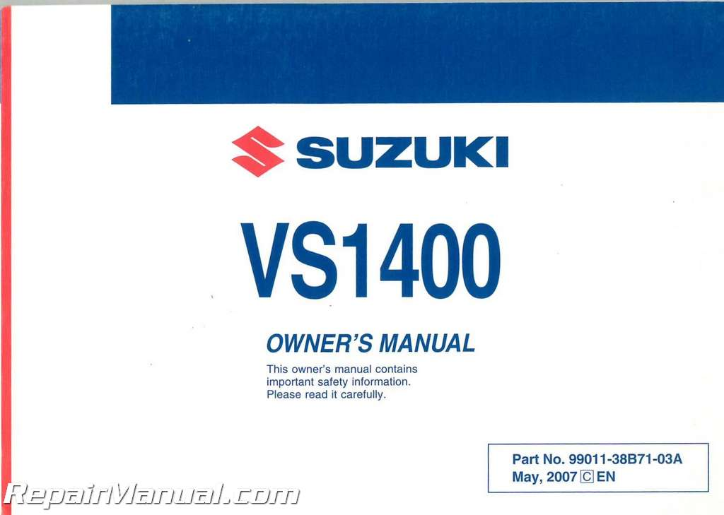 2008 suzuki boulevard m109r owners manual
