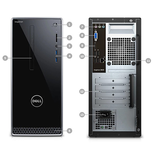 dell inspiron 3650 service manual