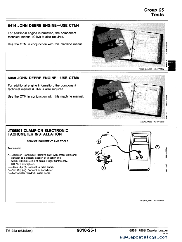 john deere 755 owners manual pdf