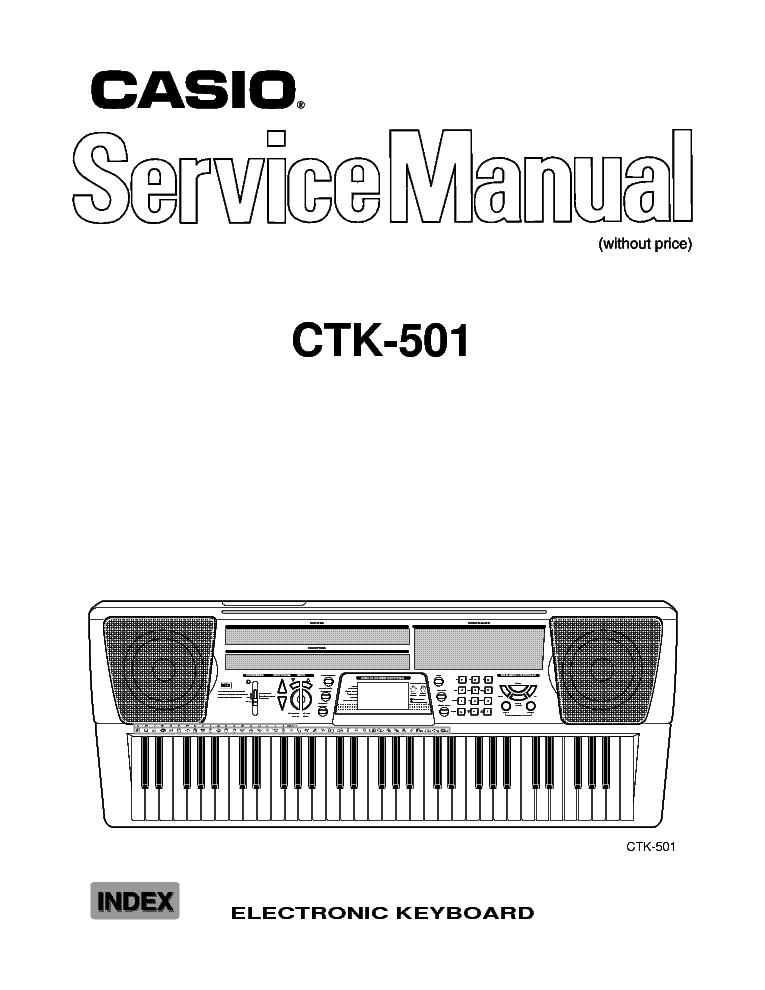 casio ctk 401 user manual