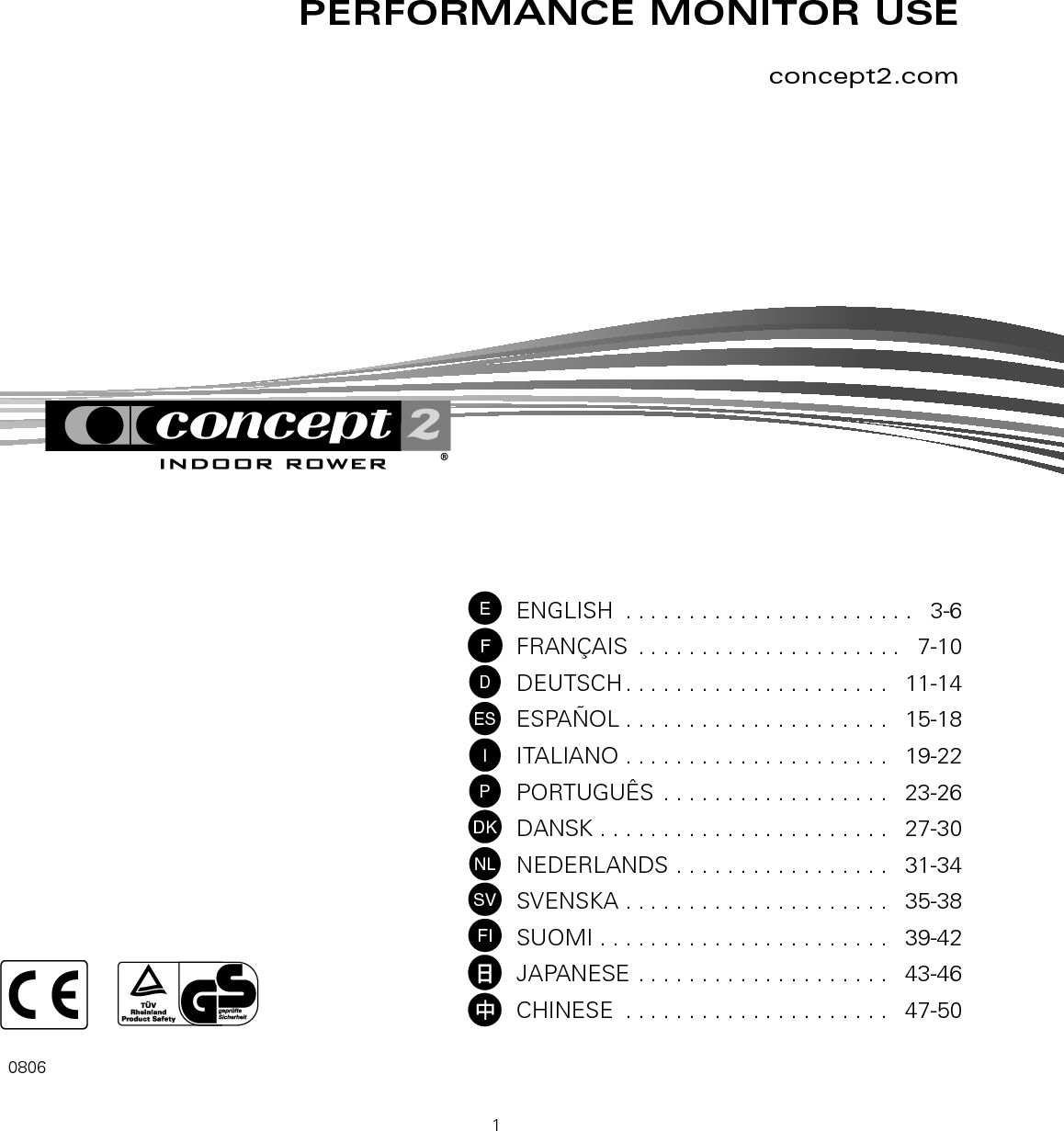 concept 2 pm4 user manual