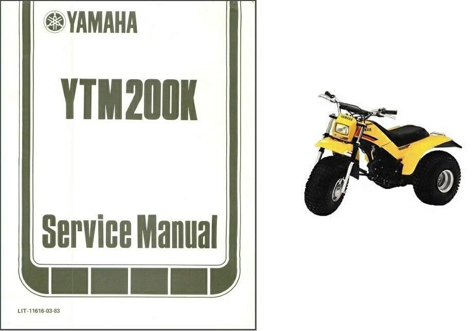 1984 yamaha tri moto 225 owners service manual