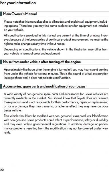 2010 lexus gx 460 owners manual