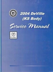 2004 cadillac deville dts owners manual