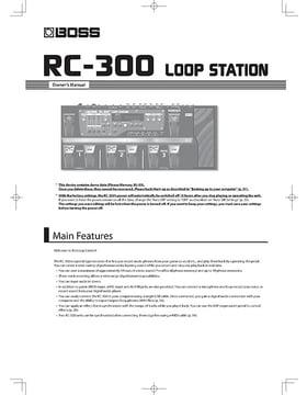 boss rc 2 manual pdf