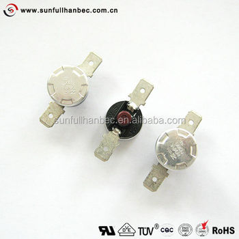 1 2 disk thermostat manual reset