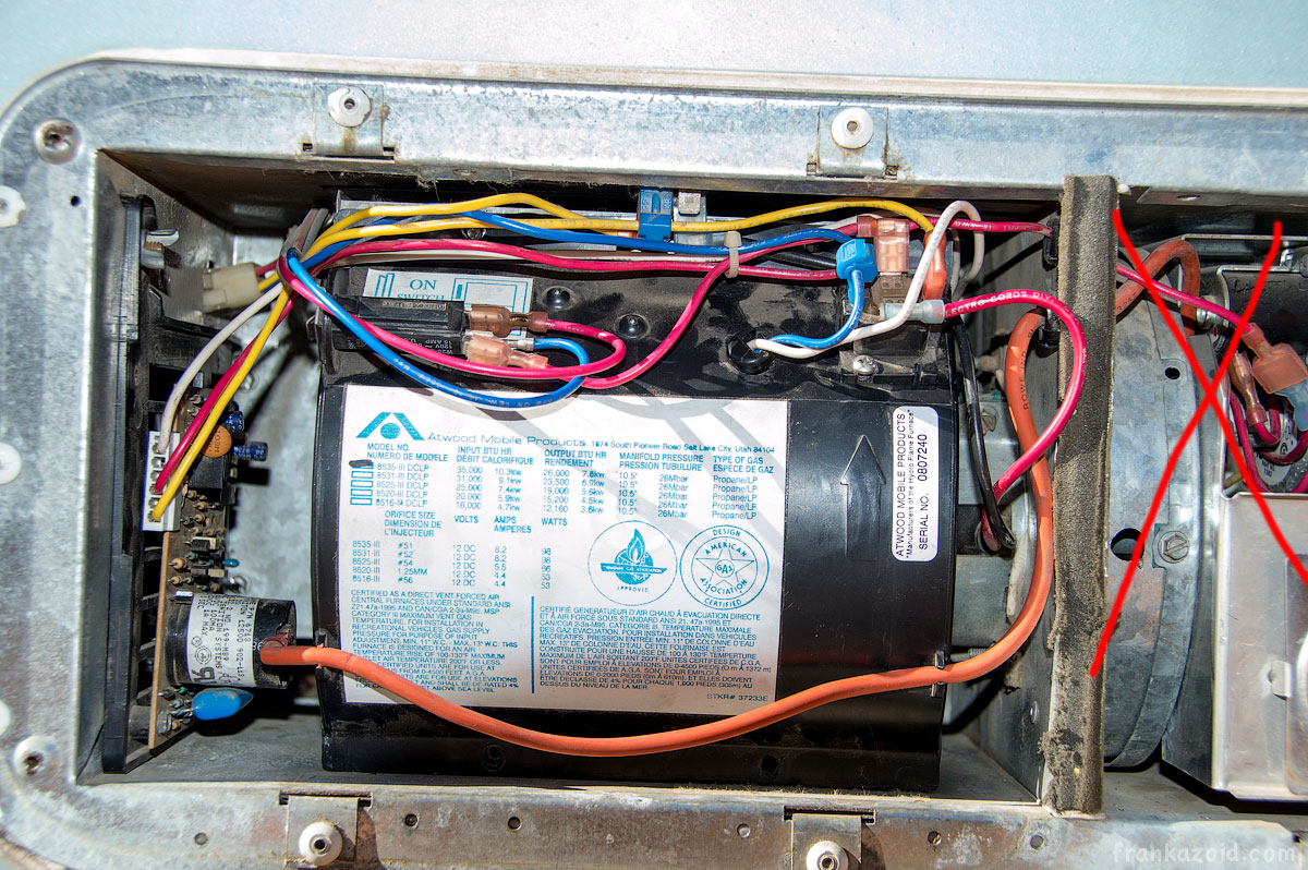 atwood mobile products 7916 ii furnace user manual