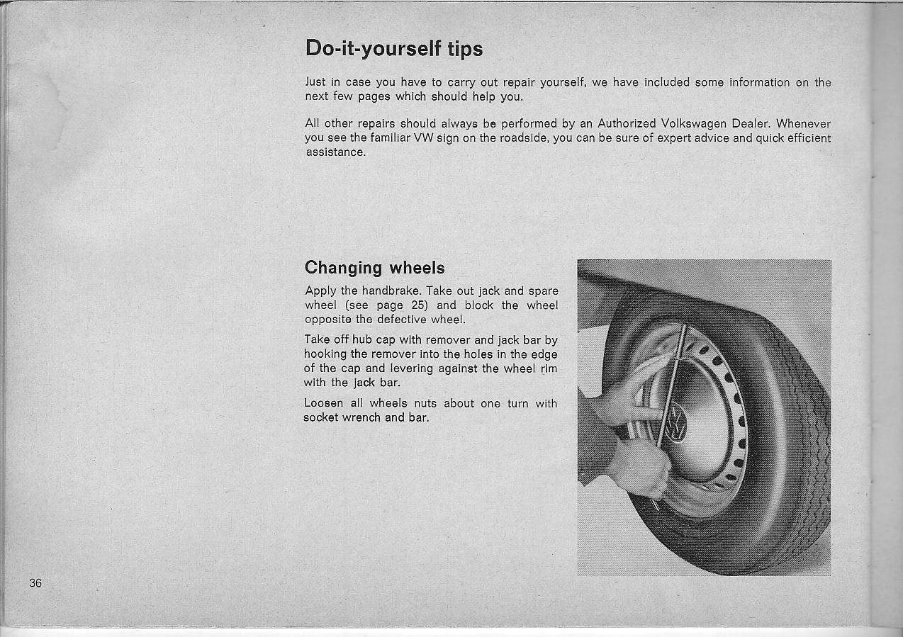 1971 vw bus owners manual